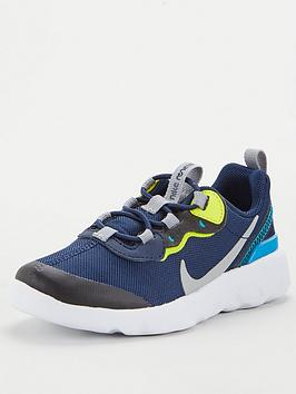 Nike Nike Element 55 Infant Trainer - Navy/Yellow Picture