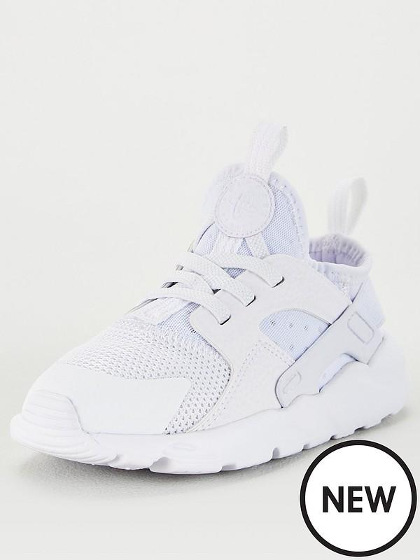 Huarache Run Ultra Infant Trainers White