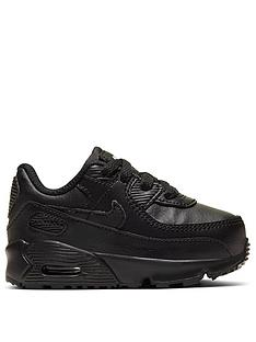 nike-air-max-90-infant-trainers-black