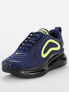 Nike Nike Air Max 720 Junior Trainers - Navy Picture
