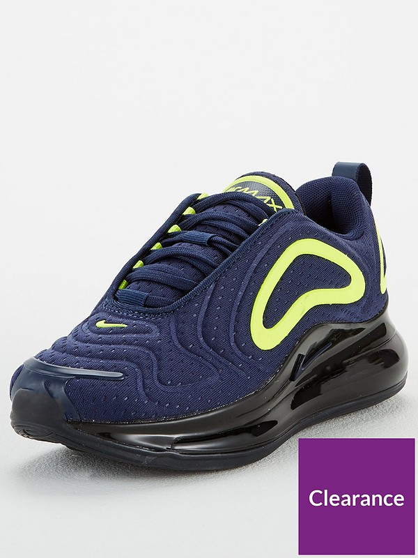 verbo Volverse Repetido  Nike Air Max 720 Junior Trainers - Navy | littlewoods.com