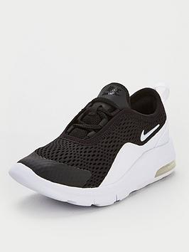 Nike Nike Air Max Motion 2 Infant Trainers - Black/White Picture