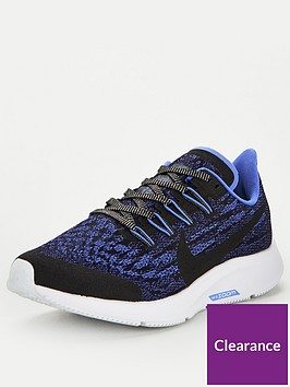 nike-air-zoom-pegasus-36-glitter-junior-trainers-blackblue