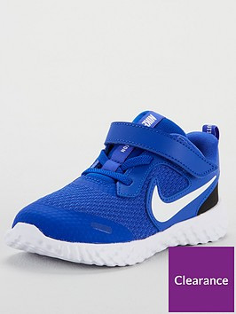 nike-revolution-5-infant-trainers-blue
