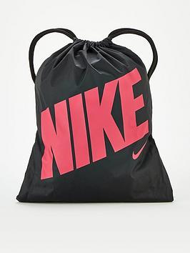 Nike Nike Kids Graphic Gym Sack - Black/Pink Picture