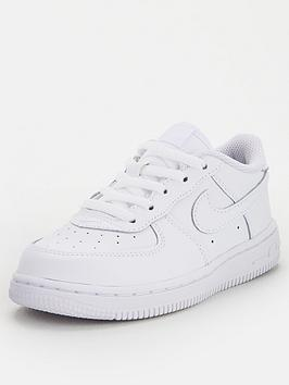 Nike Nike Boys Nike Force 1 '06 Toddler Trainers - White Picture
