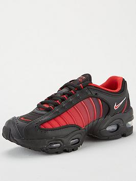 Nike Nike Air Max Tailwind Iv Junior Trainer - Black/Red Picture