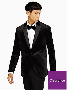 topman-velvet-blazer