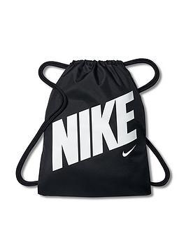 Nike Nike Childrens Graphic Gym Sack - Black/White Picture