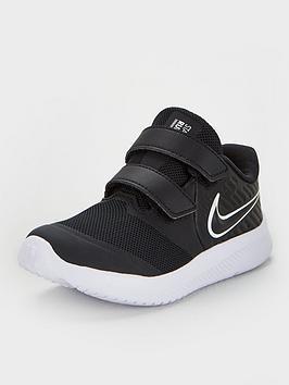Nike Nike Star Runner 2 Infant Trainer - Black/White Picture