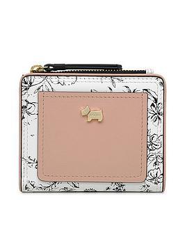 radley-sketchbook-floral-small-bi-fold-purse-bright-white