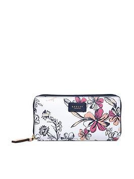 radley-sketchy-floral-large-zip-around-matinee-purse-bright-white