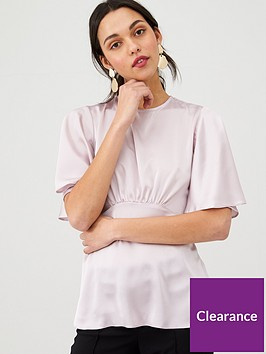 v-by-very-angel-sleeve-peplum-satin-blouse-ash-greynbsp