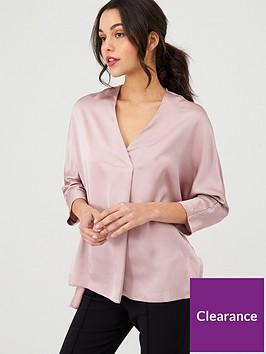 v-by-very-satin-knotch-neck-violet