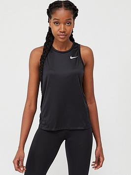 Nike Nike Running Miler Tank - Black Picture