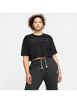 Nike Nike Nsw Air Crop Tee (Curve) - Black Picture