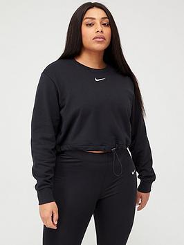 Nike Nike Nsw Swoosh Sweatshirt (Curve) - Black Picture