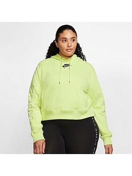 Nike Nike Nsw Air Pullover Hoodie (Curve) - Limelight Picture