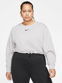 Nike Nike Nsw Swoosh Sweat Top (Curve) Picture