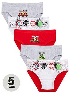 the-avengers-5-pack-briefs-multi