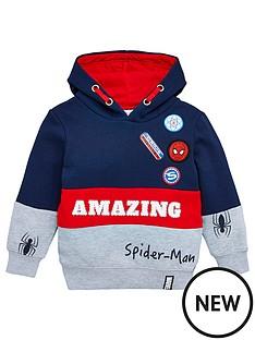 spiderman-amazing-hoodie-navy