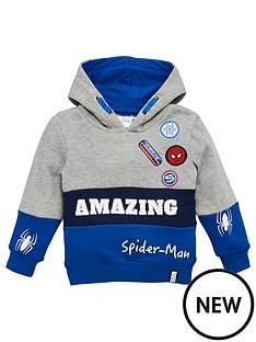 spiderman-amazing-hoodie-grey