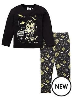toy-story-4-glow-in-the-dark-pyjamas-black