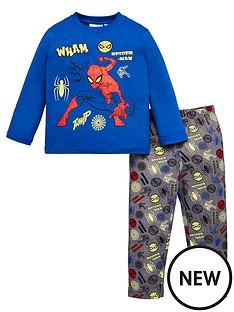 spiderman-glow-in-the-dark-pyjamas-blue