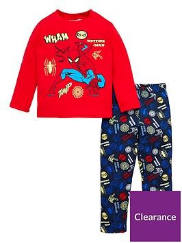 spiderman-glow-in-the-dark-pyjamas-red