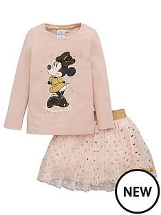 minnie-mouse-t-shirt-amp-skirt-set-pale-pink