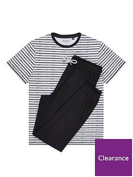 burton-menswear-london-jersey-lounge-set-black