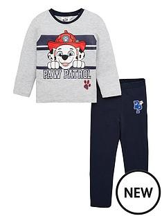 paw-patrol-pyjamas-light-grey