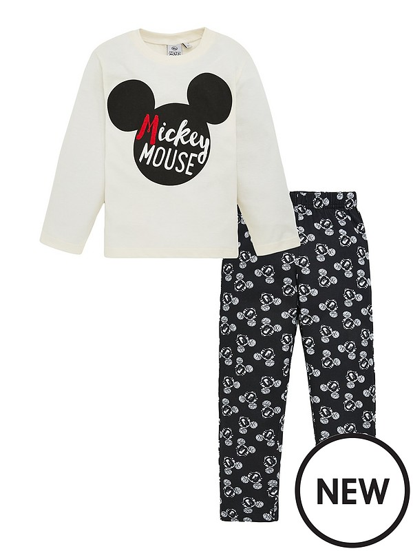 Girls Minnie Mouse T-Shirt 3-8 Years White Mickey Mouse Short Sleeve