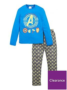 the-avengers-glow-in-the-dark-pyjamas-blue