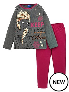 disney-frozen-girls-magic-pyjamas-grey