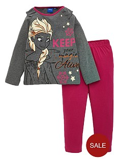 disney-frozen-girls-magic-pyjamas-grey