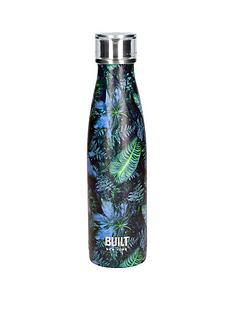 built-hydration-double-walled-stainless-steel-water-bottle-ndash-dark-tropics