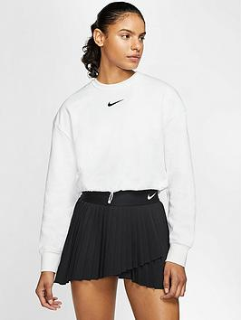 Nike Nike Sportswear Swoosh Sweatshirt - Whtie Picture