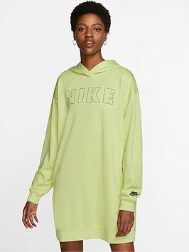 Nike Nike Nsw Air Hooded Dress - Limelight Picture