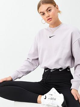 Nike Nike Nsw Swoosh Sweat Top - Lilac Picture