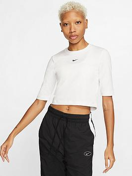 Nike Nike Nsw Essential 3 Quarter Sleeve Top - White Picture