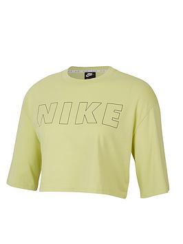 Nike Nike Nsw Air Crop Top - Limelight Picture