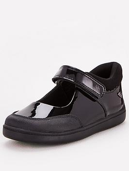 V by Very V By Very Toezone At V By Very Younger Girls Patent Leather  ... Picture