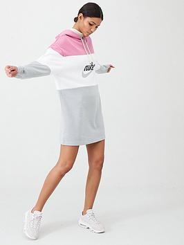 Nike Nike Nsw Varsity Hooded Dress - Pink Picture