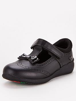 V by Very V By Very Toezone At V By Very Younger Girls Brogue Bow Leather  ... Picture