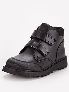 v-by-very-toezonenbspyounger-boys-twin-strap-leather-school-boot-black