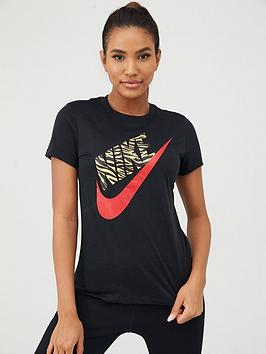 Nike Nike Nsw Prep Futura 1 Tee - Black Picture