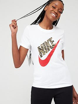 Nike Nike Nsw Prep Futura 1 T-Shirt - White Picture