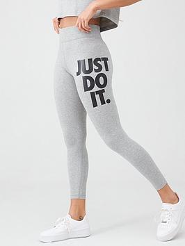 Nike Nike Nsw Jdi Leg-A-See Leggings - Dark Grey Heather Picture