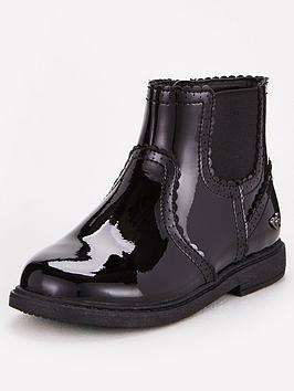 V by Very V By Very Toezone At V By Very Younger Girls Patent Brogue  ... Picture
